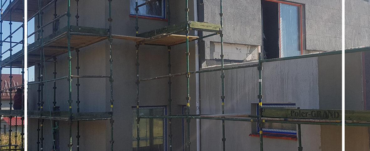 Zakończenie III etapu budowy domów bliźniaczych Osada Borkowo