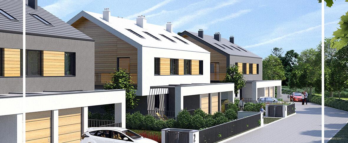 Ruszyła budowa inwestycji domów bliźniaczych Zielona Park
