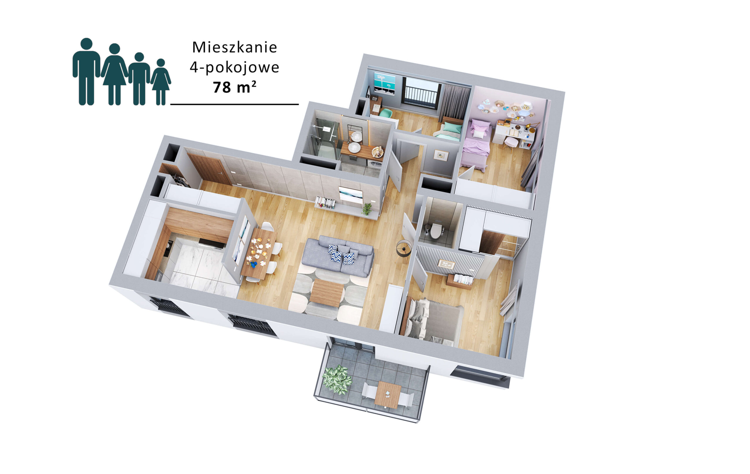 M 3D -4