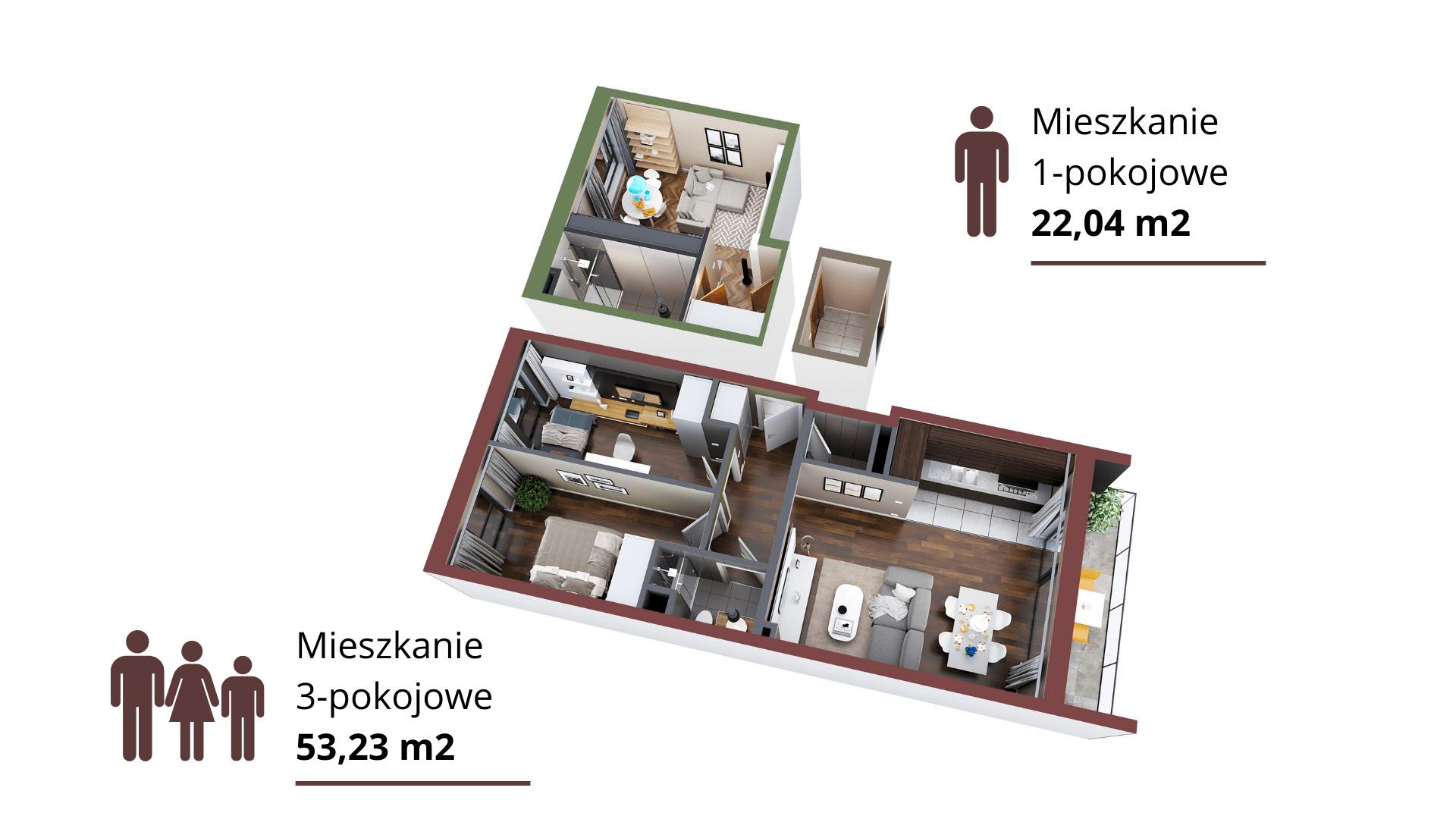 Mieszkanie opcja 3+1