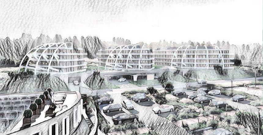 Kompleks apartamentowo-hotelowy we Władysławowie