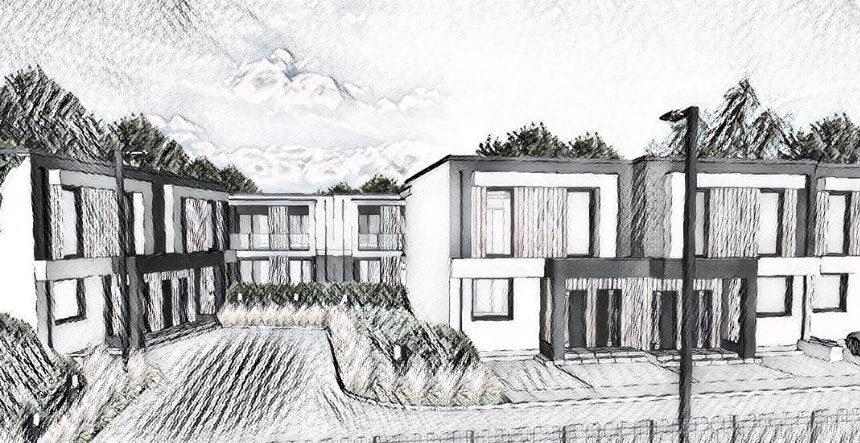 Kameralne osiedle mieszkaniowe w Gdyni (Pustki Cisowskie)