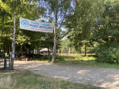 Port Brzeźno Park Linowy